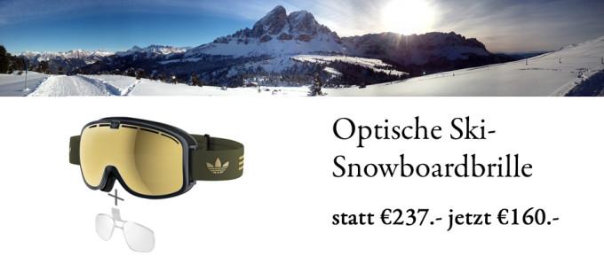 Optische Skibrillen Aktion