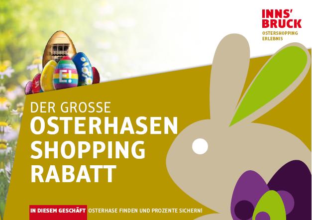 Osterhasen Shopping Rabatt Innsbruck