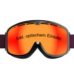 Skibrille mit Einsatz