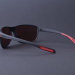 evil eye nook Sonnenbrille e011 black matt back - grey